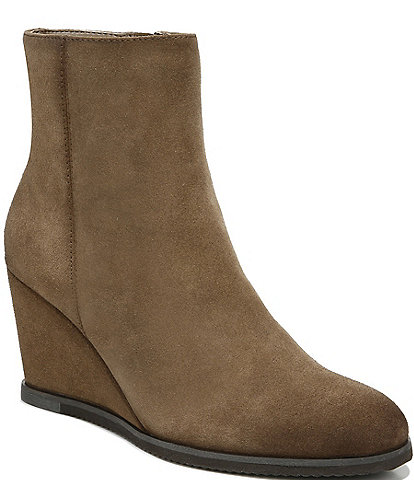 Naturalizer Garnet Suede Wedge Booties