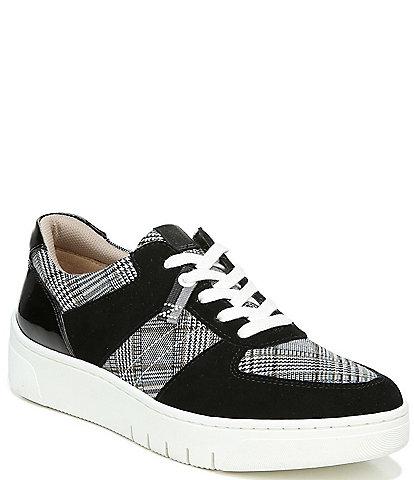 Naturalizer Hadley Plaid Wedge Sneakers