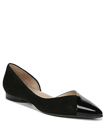 Naturalizer Hayden Suede d'Orsay Dress Flats