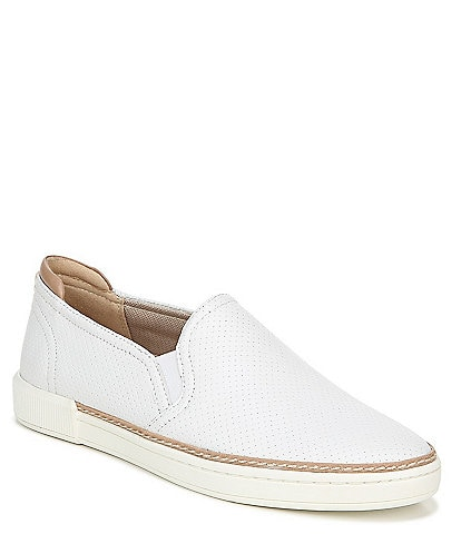 Naturalizer Jade Leather Slip On Sneakers