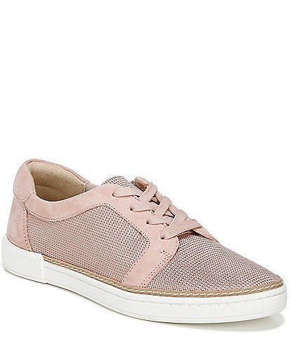 Naturalizer Jane Mesh and Leather Lace Up Sneakers