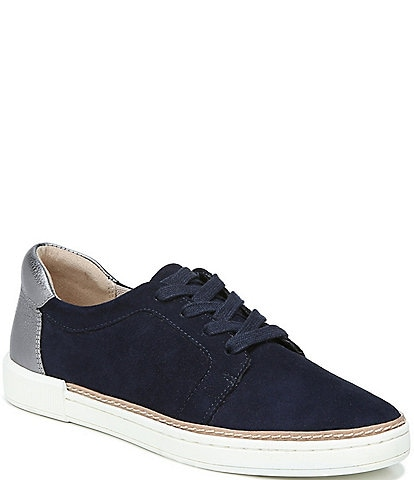 Naturalizer Jane Suede & Leather Lace Up Sneakers