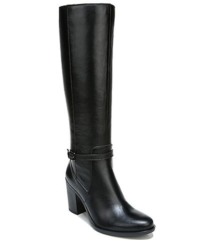 Naturalizer Kalina Wide Calf Leather Tall Shaft Boots