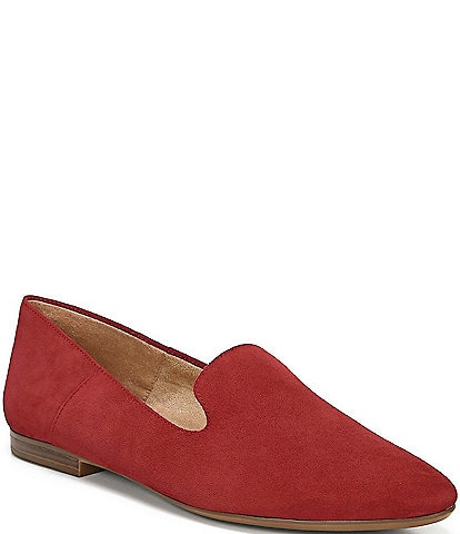 Naturalizer Lorna Collapsible Back Suede Flats
