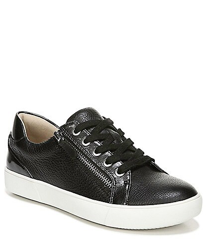 Naturalizer Macayla Leather Lace Up Sneakers