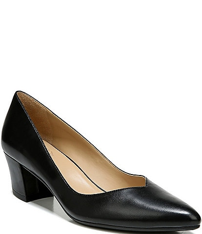Naturalizer Mali Leather Pointed Toe Pumps