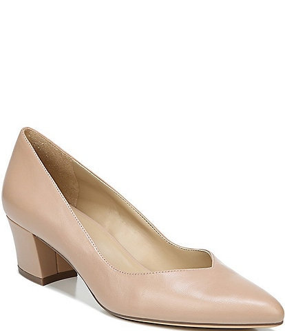 Naturalizer Mali Pointed Toe Leather Pumps