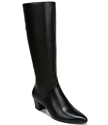 Naturalizer Melanie Wide Calf Leather Tall Shaft Boots