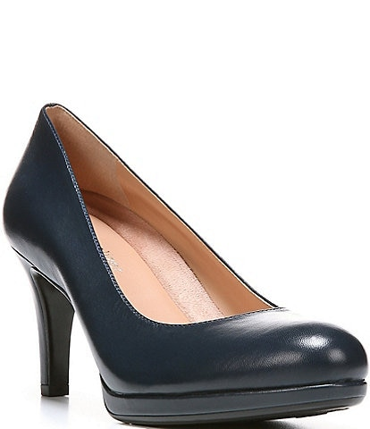 eed164b82798 Navy Blue Womens Dress Shoes - Dress Foto and Picture