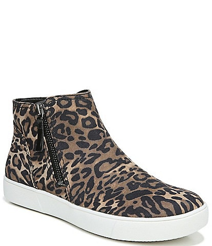 Naturalizer Miranda Cheetah Print Wedge Booties