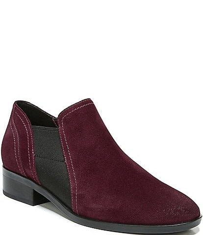 Naturalizer Royal Suede Block Heel Ankle Booties
