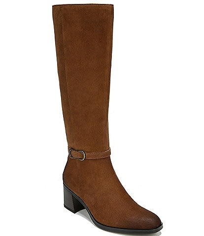 Naturalizer Sterling Suede Wide Calf Tall Boots