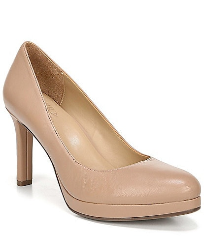 Naturalizer Teresa Leather Platform Pumps