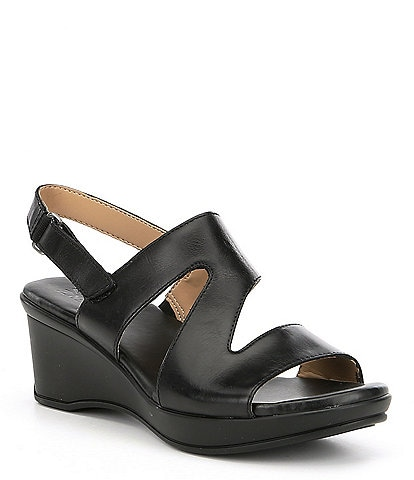 Naturalizer Valerie Leather Slingback Sandals
