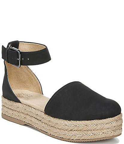Naturalizer Waverly Platform Espadrille Sandals