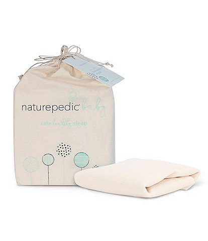 Naturepedic Breathable Crib Mattress Cover