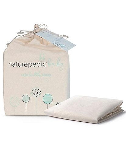 Naturepedic Organic Waterproof Baby Crib Flat Protector Pad