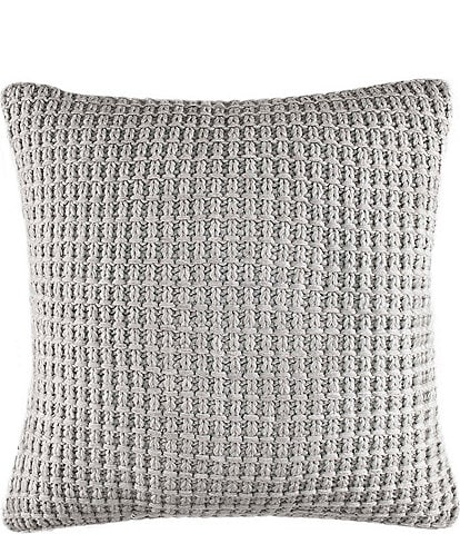 Nautica Fairwater Chunky Knit Square Pillow