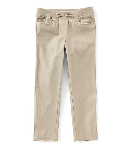 Nautica Little Girls 4-6X Knit Straight Leg Pants