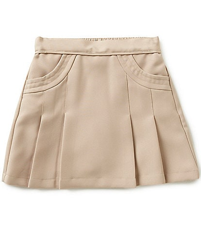 Nautica Little Girls 4-6X Pleated Skort