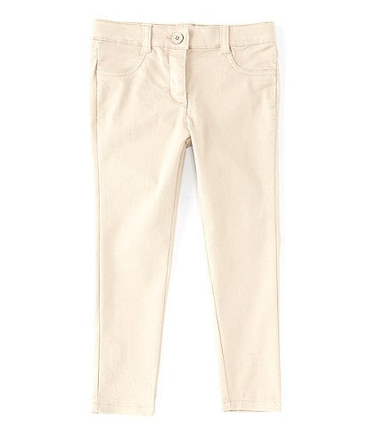 Nautica Little Girls 4-6X Sateen Skinny Pant