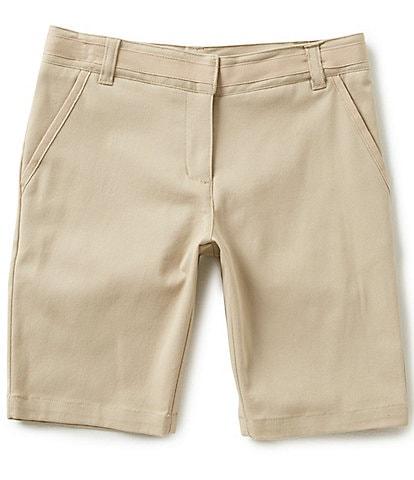 Nautica Little Girls 4-6X Adjustable Waist Twill Shorts