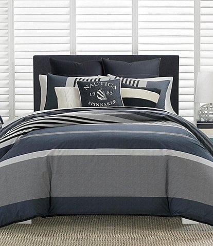 Nautica Rendon Stripe Comforter Mini Set
