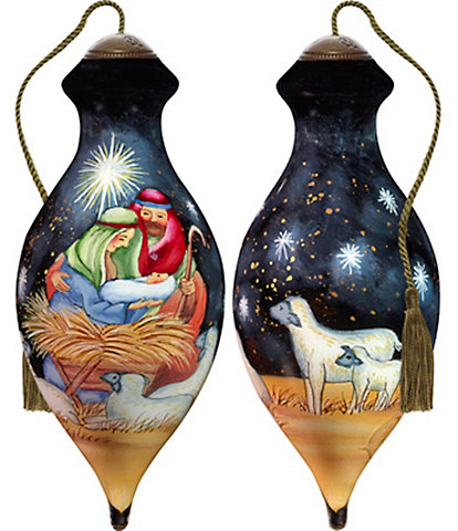 Ne' Qwa Art Christ Is Born Ornament