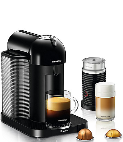 Nespresso by Breville Vertuo Centrifusion Espresso Maker with Aeroccino Milk Frother