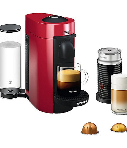 Nespresso VertuoPlus Coffee & Espresso Single-Serve Machine and Aeroccino Milk Frother