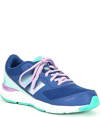 New Balance Girls' 680 V6 Lace-Up Running Shoes (Youth)