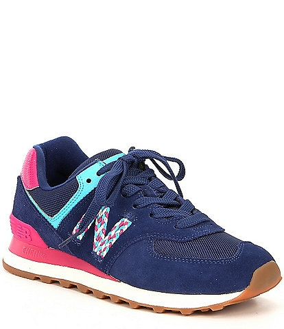 New Balance Women's 574 Suede Lifestyle Shoes