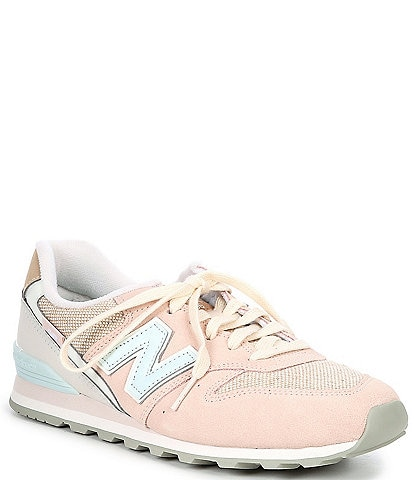 New Balance Women's 996 V2 Suede And Mesh Lace-Up Lifestyle Sneakers