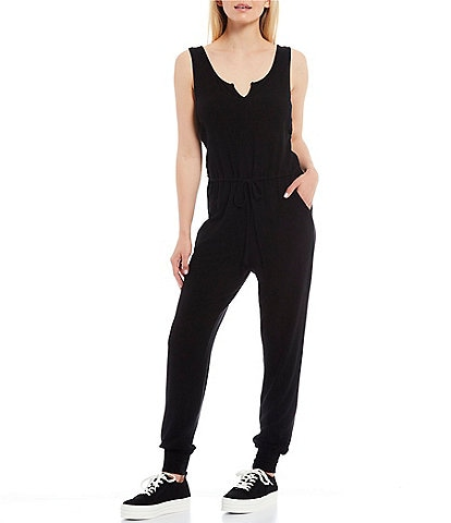 NIA Ribbed Hacci Jumpsuit