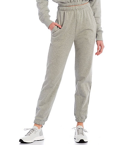 NIA Weekend High Rise Pull-On Pocket Banded Hem Sweatpants