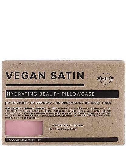 NIGHT Vegan Satin Queen Pillowcase