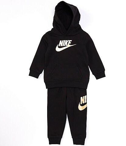 Nike Baby Boys 12-24 Months Metallic-Logo Fleece Hoodie & Jogger Pant Set