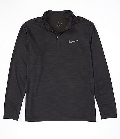 Nike Big & Tall Superset Long-Sleeve Quarter-Zip Training Top