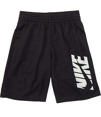 Nike Big Boys 8-20 Double Logo Training Shorts