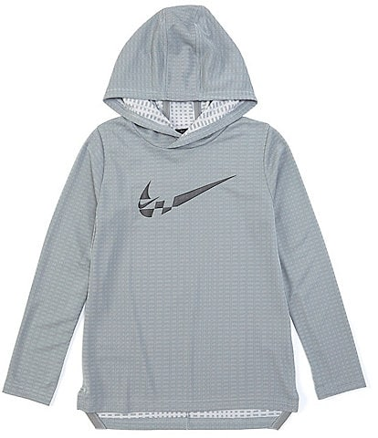 Nike Big Boys 8-20 Long-Sleeve Breathe Hooded Training Top