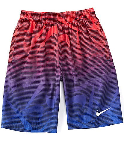 Nike Big Boys 8-20 Pixel Swoosh Volley Swim Trunks
