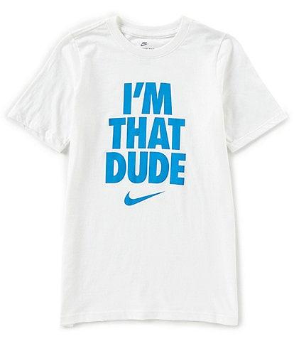 e2d7d657df33 Nike Big Boys 8-20 Short-Sleeve I m That Dude Graphic Tee