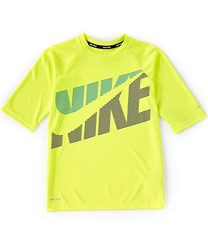 Nike Big Boys 8-20 Short-Sleeve Tilt Hydroguard Tee