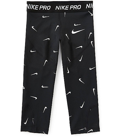 Nike Big Girls 7-16 Nike Pro Printed Capri Pants