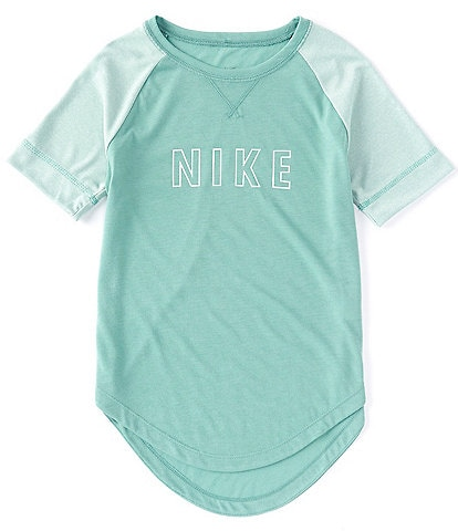 Nike Big Girls 7-16 Short-Sleeve Trophy Training Top
