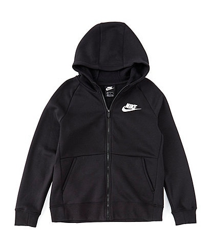Nike Big Girls 7-16 Sportswear Full-zip Fleece Hoodie