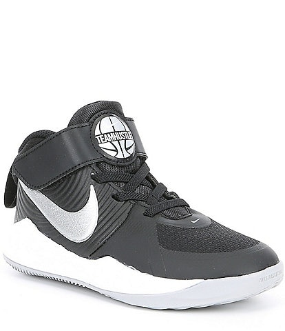 sale retailer 28334 1b809 Nike Boys  Team Hustle D 9 PS Basketball Shoe