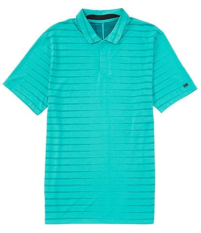 Nike Dri-FIT Short-Sleeve with Tiger Woods Performance Stretch Knit Polo Shirt