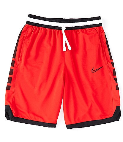 Nike Elite Dri-FIT Stripe 10#double; Inseam Basketball Shorts