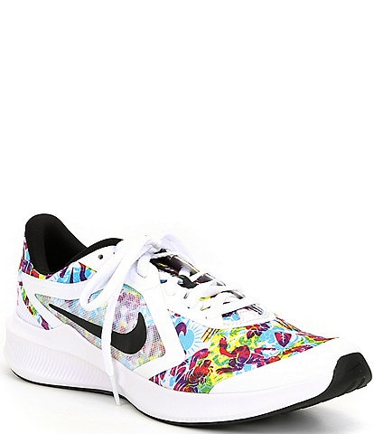 Nike Girls' Downshifter 10 Fable Lace-Up Running Shoes (Youth)